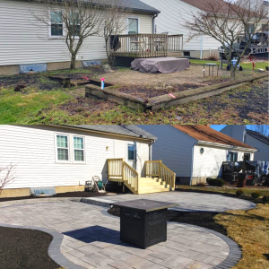 Before After Back Yard