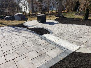 Multi-level patio Creative Scapes