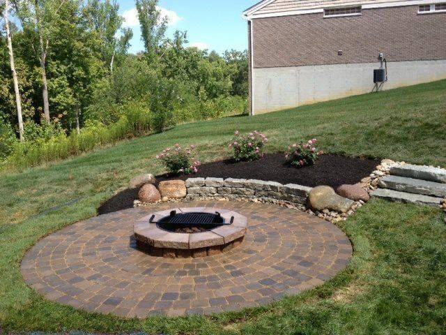 Firepit level by Creative Scapes