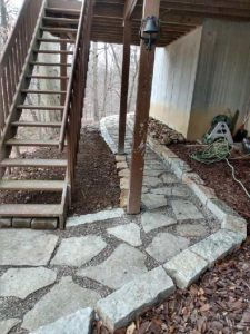Unique stone path Creative Scapes